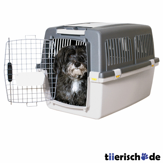 transportbox hund gulliver iata flugbox von stefanplast. Black Bedroom Furniture Sets. Home Design Ideas