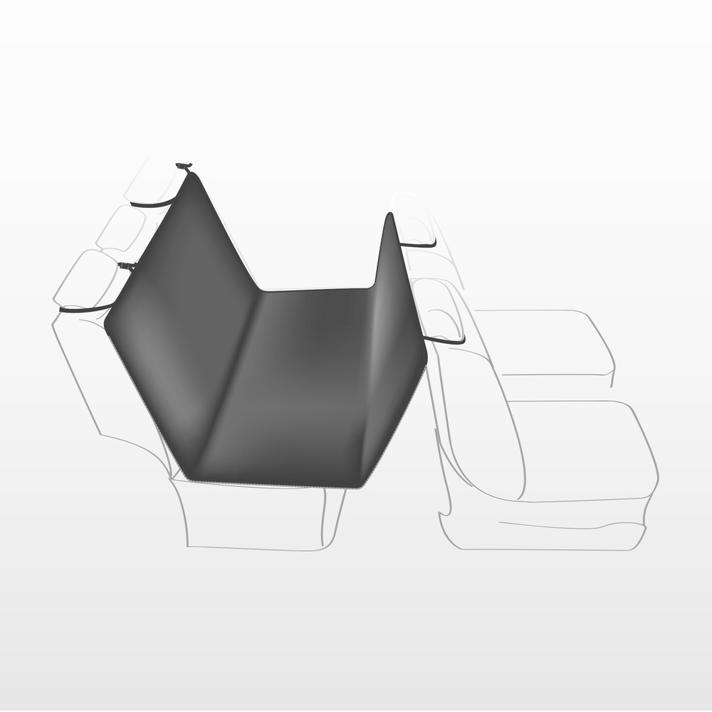 Trixie Auto-Schondecke für die Rückbank Bild 2