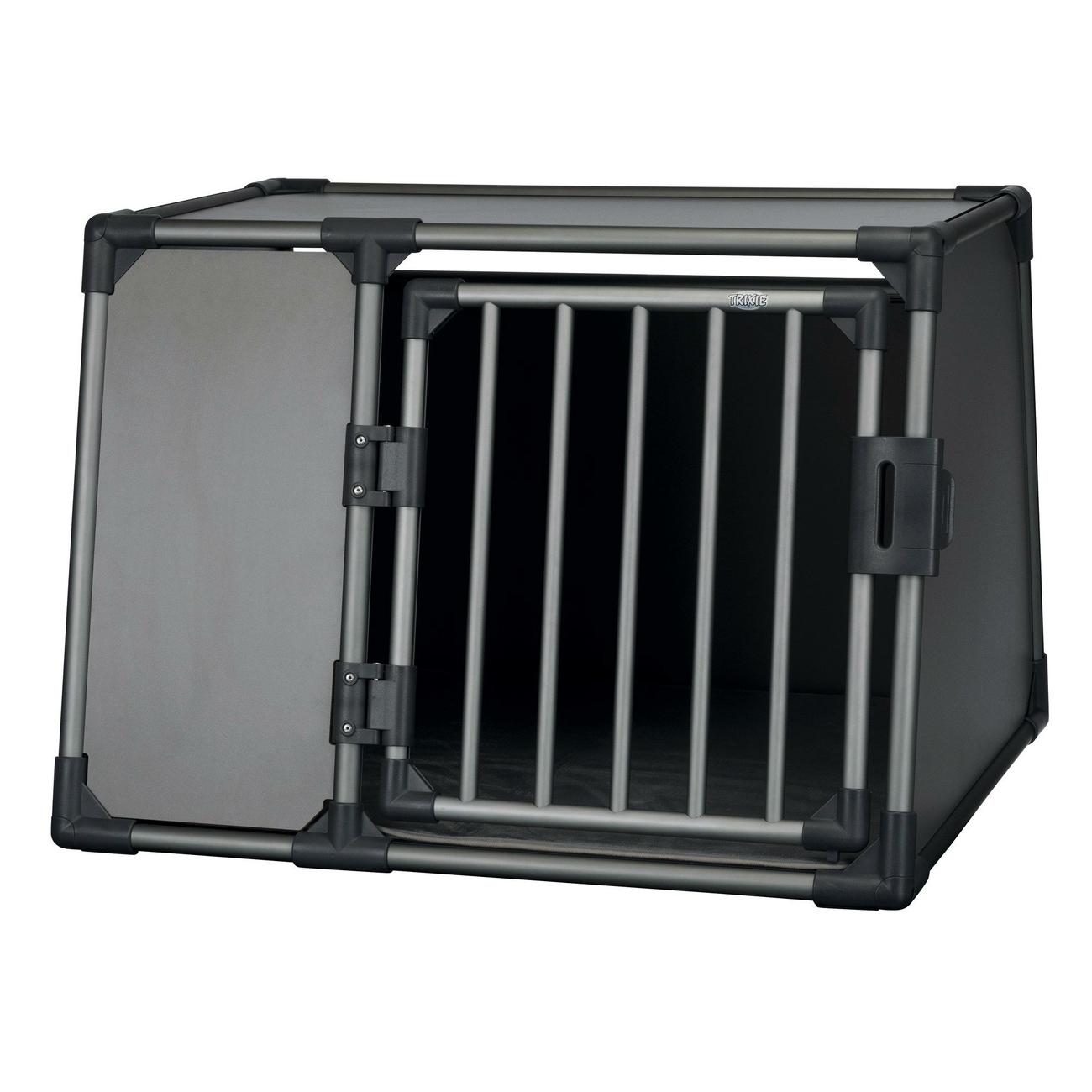 Trixie Autobox für Hunde aus Aluminium, graphit Bild 7