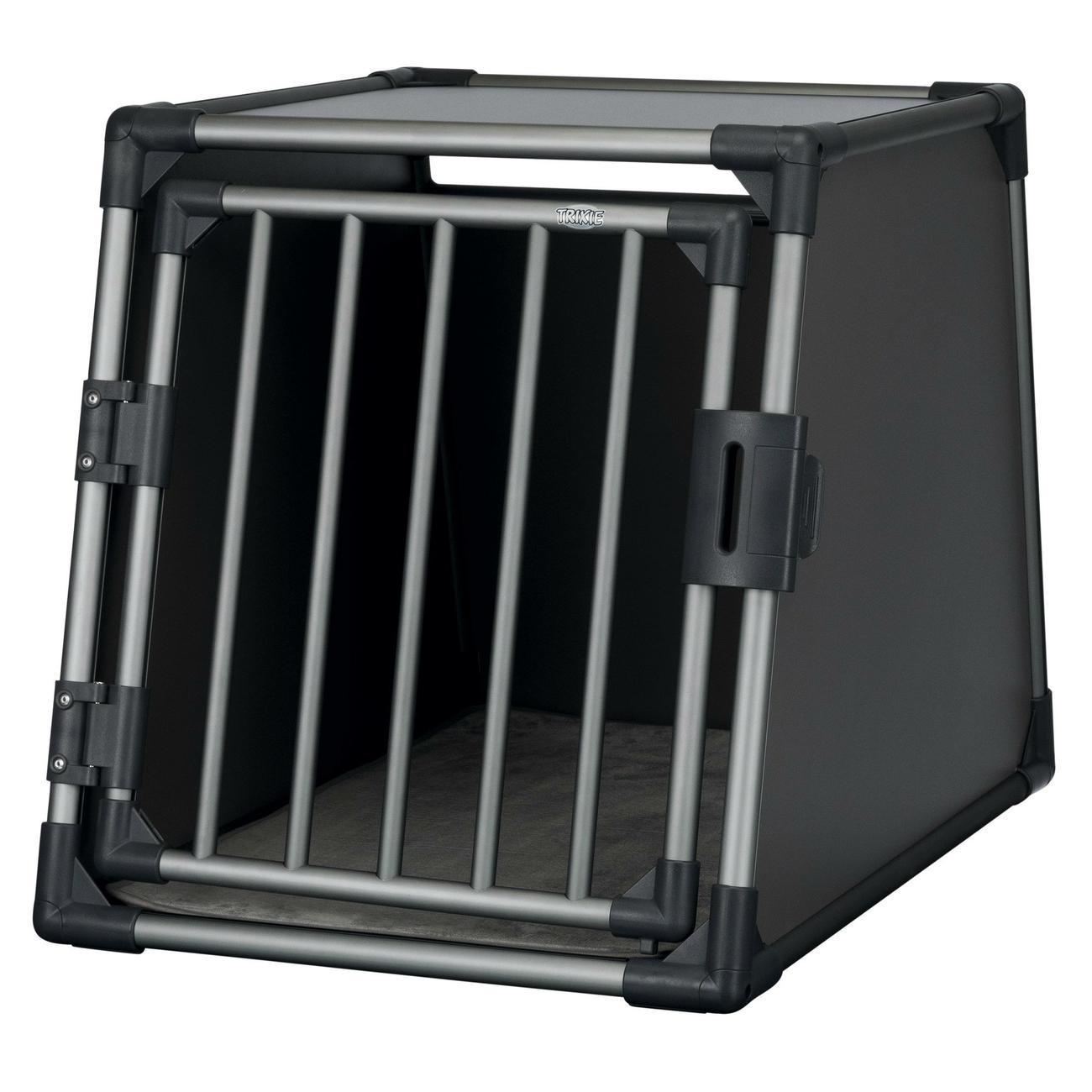 Trixie Autobox für Hunde aus Aluminium, graphit Bild 5