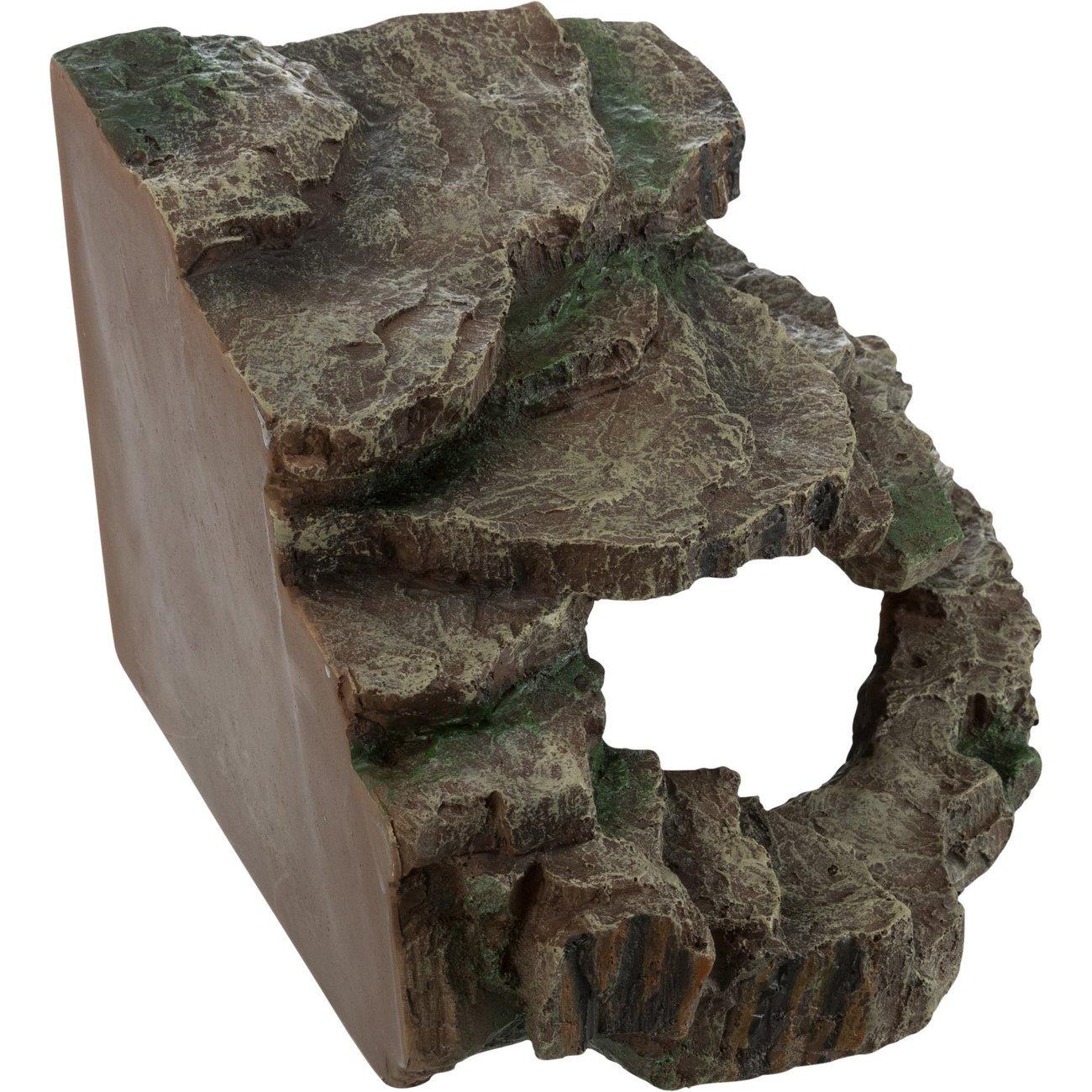 Eck-Felsen mit Höhle und Plattform Bild 3