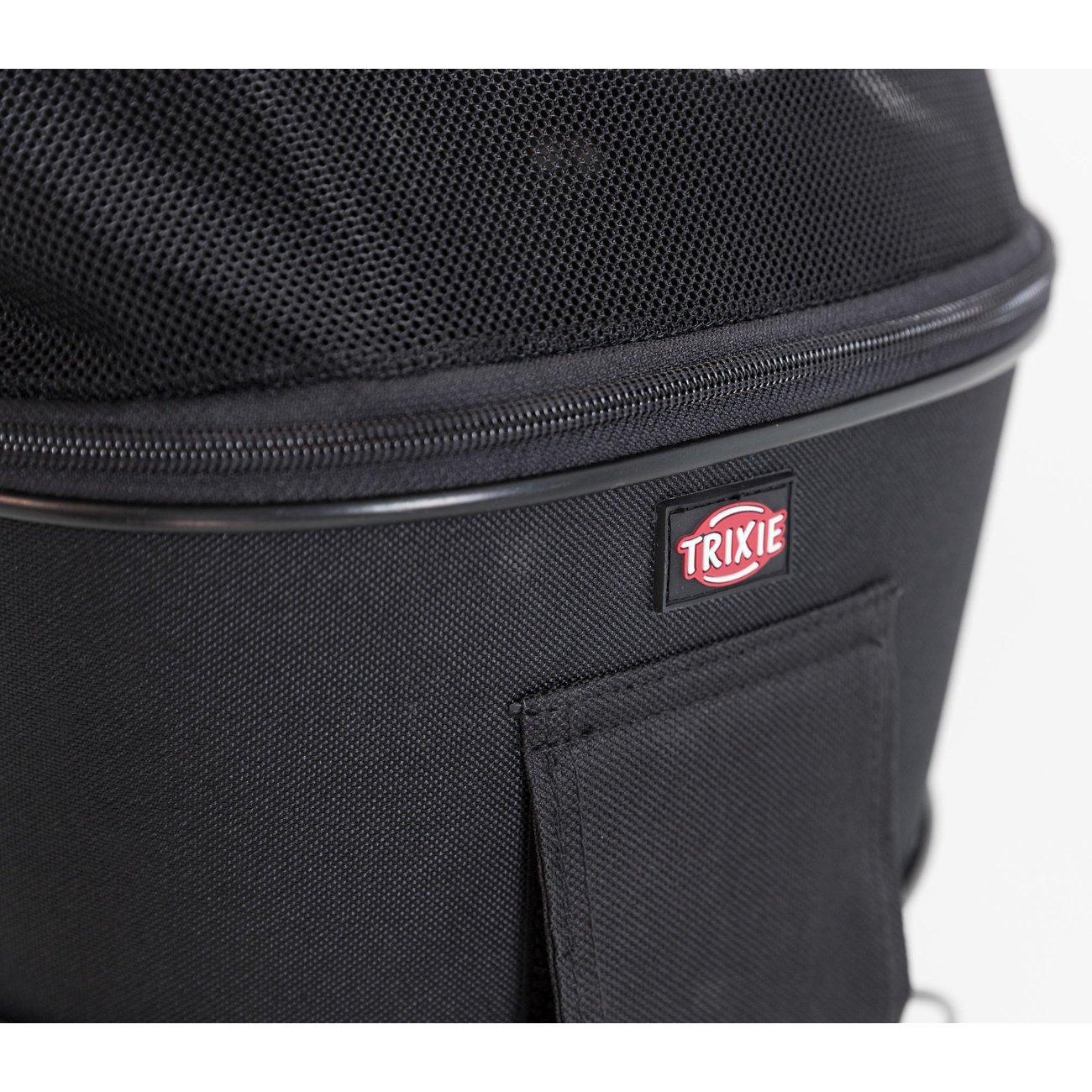 Fahrradtasche mit Metallrahmen für breite Gepäckträger Bild 9