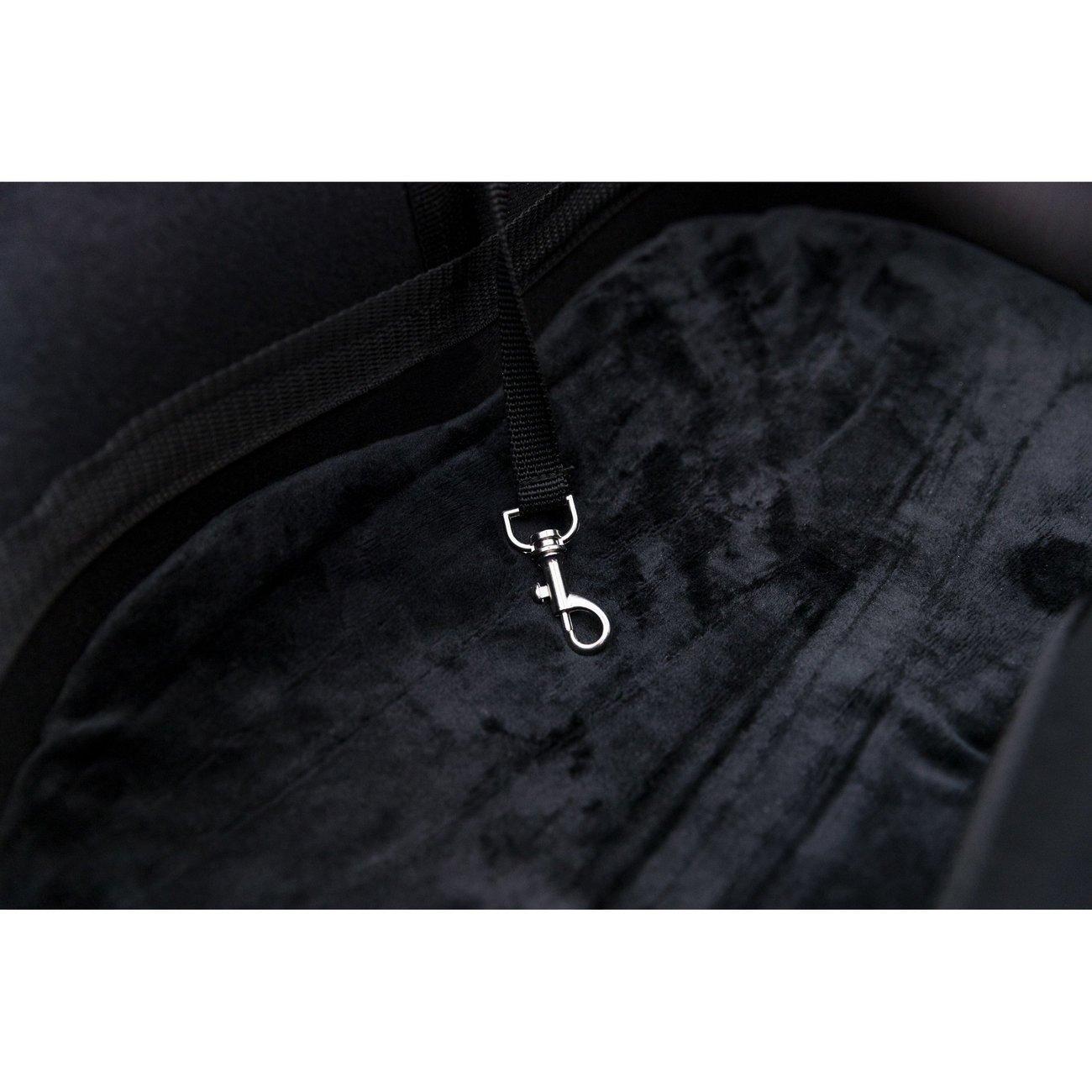 Fahrradtasche mit Metallrahmen für breite Gepäckträger Bild 10