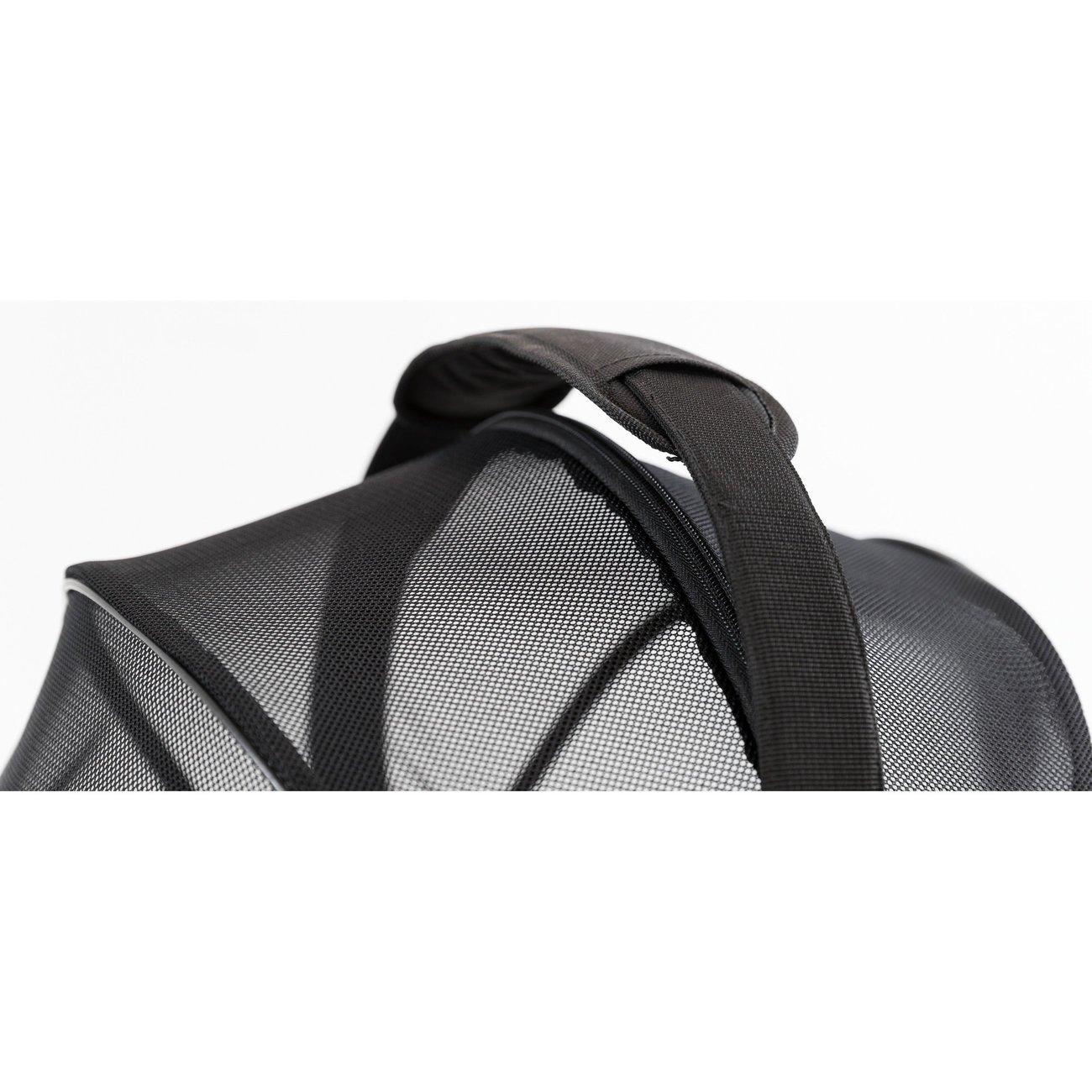 Fahrradtasche mit Metallrahmen für breite Gepäckträger Bild 8