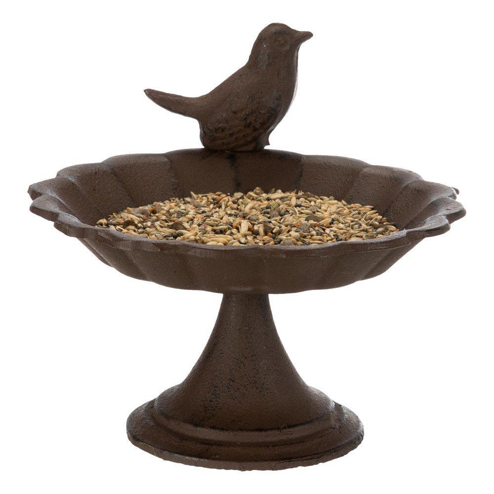 Vogeltränke aus Gusseinsen mit Standfuß Bild 2
