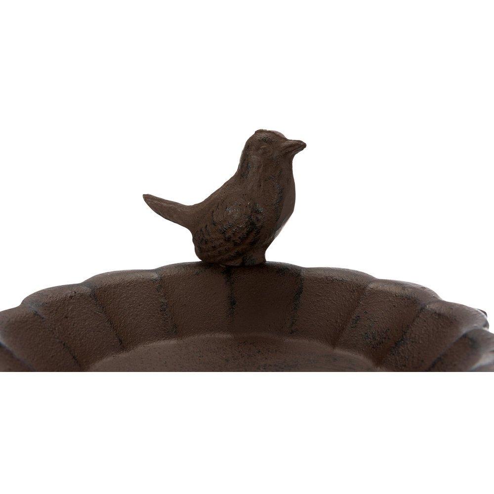 Vogeltränke aus Gusseinsen mit Standfuß Bild 4