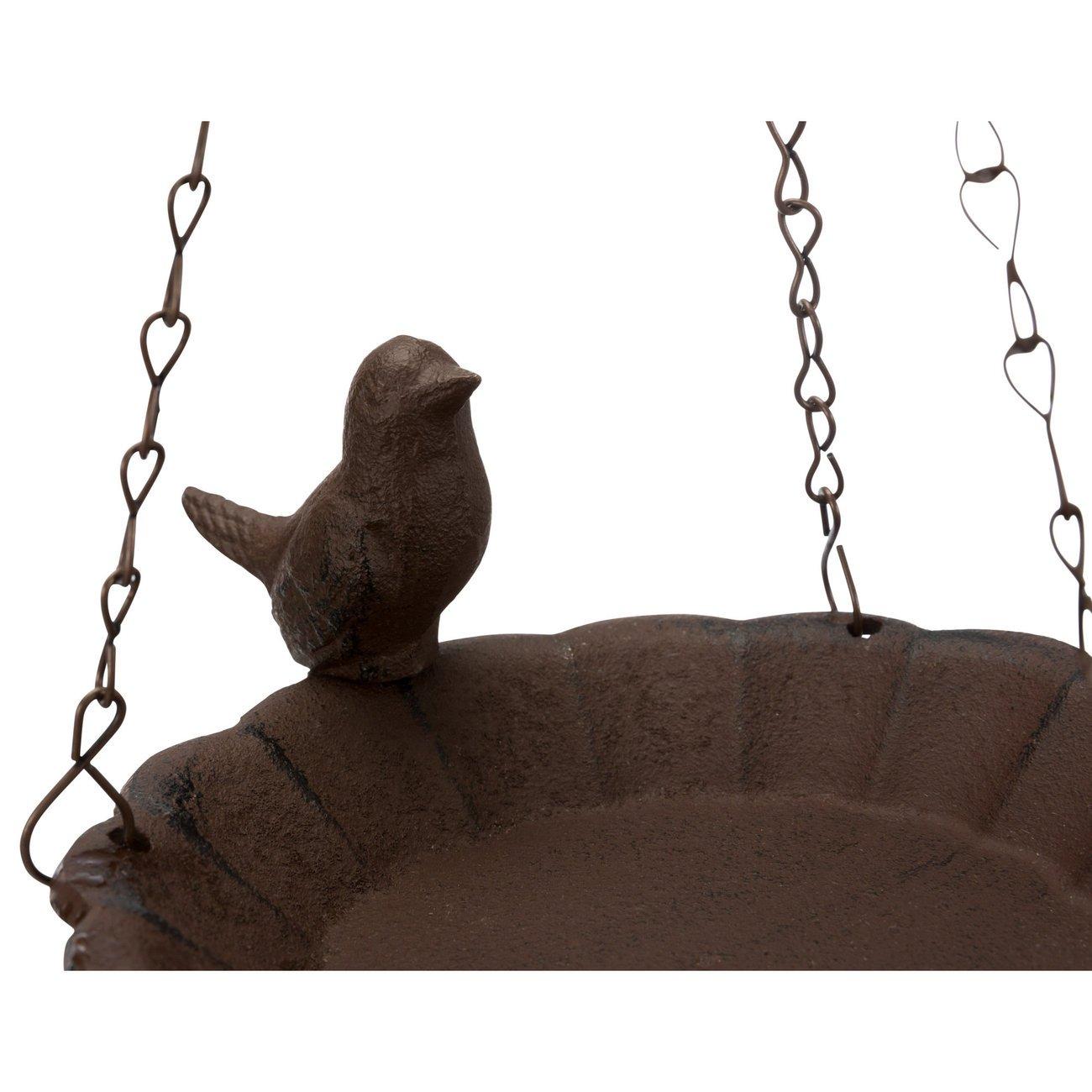 Vogeltränke aus Gusseisen Bild 2