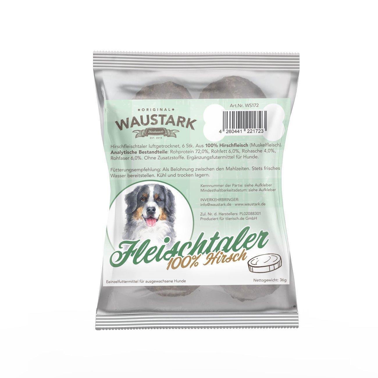 Premium luftgetrocknete Fleischtaler für Hunde Bild 3