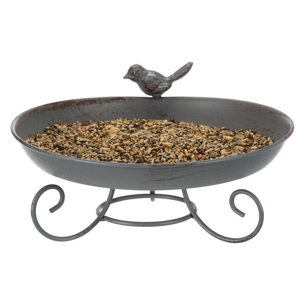 Wildvogel Tränke aus Metall zum Hinstellen Bild 3