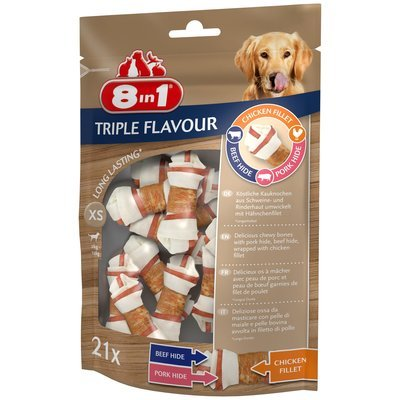 8in1 Triple Flavour Kauknochen Preview Image