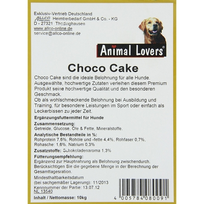 Animal Lovers Choco-Cake Preview Image