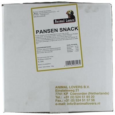 Animal Lovers Pansen Snack für Hunde Preview Image