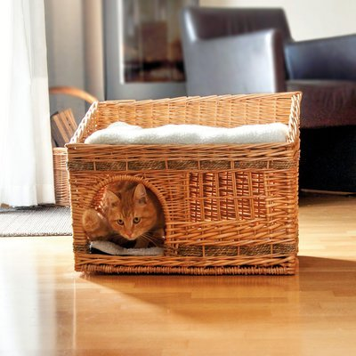 Aumüller Katzenhaus aus Weide Preview Image