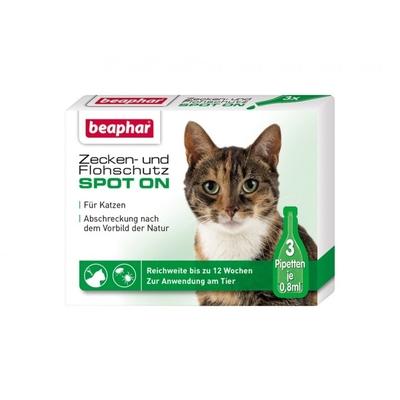 beaphar Katzen Zeckenschutz Flohschutz SPOT-ON Preview Image