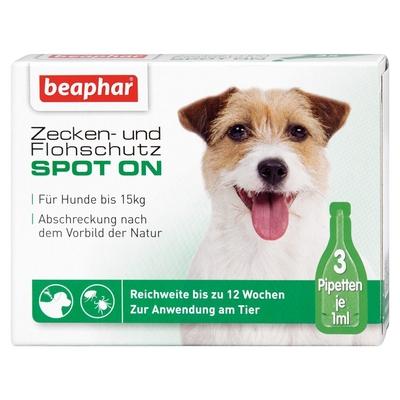 beaphar Zeckenschutz und Flohschutz SPOT-ON für Hunde Preview Image