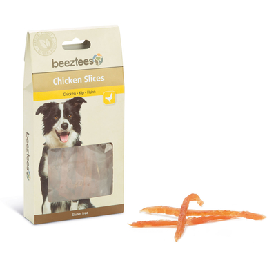 Beeztees Chicken Slices Hundesnack Preview Image