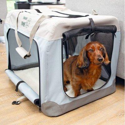 Beeztees Hundebox Travel Time faltbar Preview Image