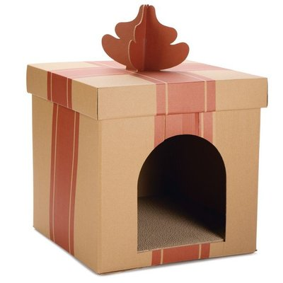 Beeztees Weihnachtshaus für Katzen Preview Image