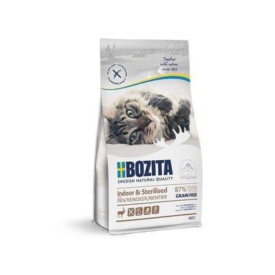 Bozita Katzenfutter Indoor & Sterilised Getreidefrei Rentier Preview Image