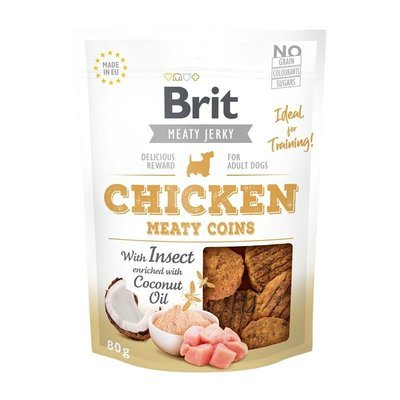 Brit Meaty Jerky Chicken Coins Snack Preview Image