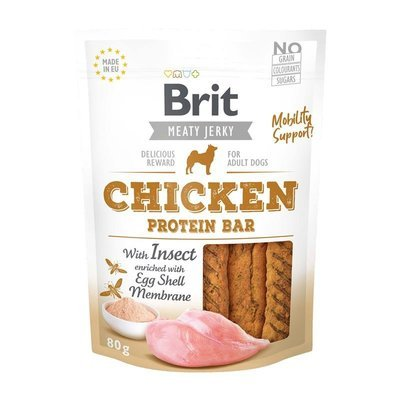 Brit Meaty Jerky Chicken Protein Bar Preview Image