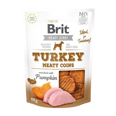 Brit Snack Meaty Jerky Turkey Coins Preview Image