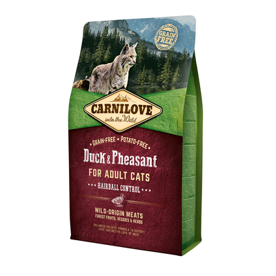 Carnilove Adult Duck & Pheasant Hairball Control Katzenfutter Preview Image