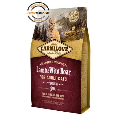 Carnilove Adult Lamb & Wild Boar Katzenfutter Preview Image