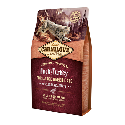 Carnilove Adult Large Breed Duck & Turkey Katzenfutter Preview Image