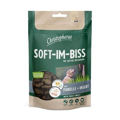 Christopherus Hundesnack Soft-Im-Biss Forelle & Insekt Preview Image