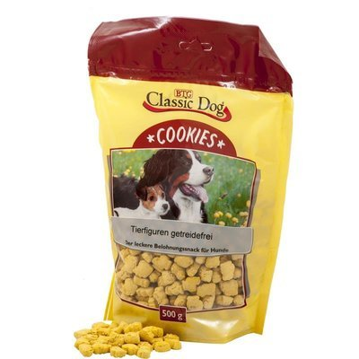 Classic Dog Hundekekse Cookies Tierfiguren getreidefrei Preview Image