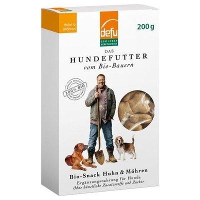 defu Hunde Bio-Snack Huhn & Möhren Preview Image