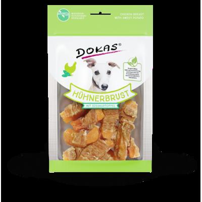 Dokas Hundesnack Hühnerbrust mit Süßkartoffel Preview Image