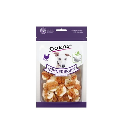 Dokas Hundesnack Hühnerbrustfilet mit Banane Preview Image
