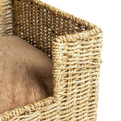 Duvo+ Katzenbett Laguna Seegras mit Kissen Preview Image