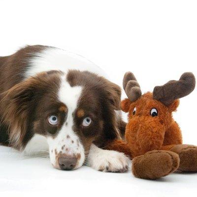 TRIXIE Elch Hundespielzeug aus Plüsch Preview Image