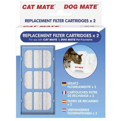 Kerbl Ersatzfilter für Trinkbrunnen Cat Mate und Dog Mate 2 Stk Preview Image