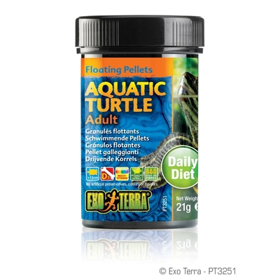 Exo Terra -  Aquatic Turtle Adult, schwimmende Futter-Pellets Preview Image