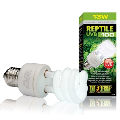 Exo Terra Reptile UVB100 E27 tropische Terrarienlampe Preview Image