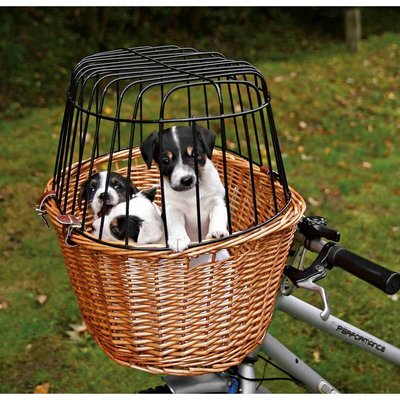 TRIXIE Fahrradkorb für Hunde mit Gitter Preview Image