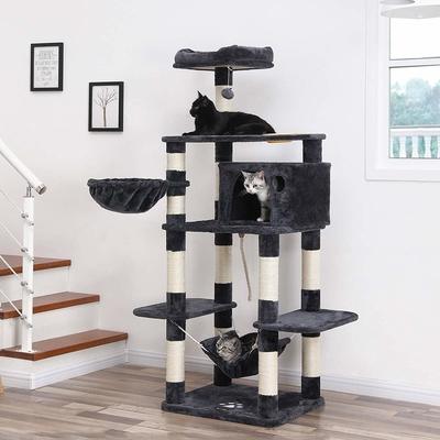 FEANDREA stabiler Kratzbaum mit Katzennapf Preview Image