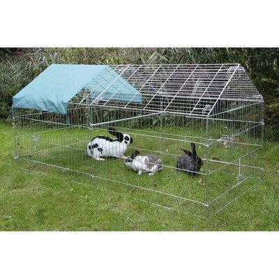 Kerbl Freigehege für Kaninchen mit Sonnenschutz Preview Image