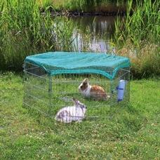 TRIXIE Freilaufgehege mit Netz für Kleintiere Preview Image