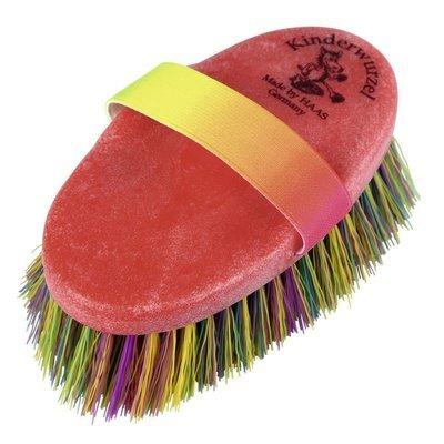 HAAS Pferdefellbürste und Mähnenbürste für Kinder Wurzel Preview Image