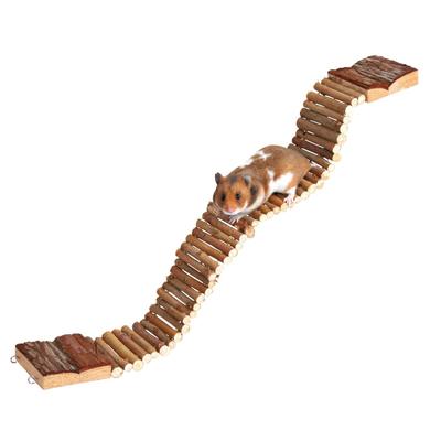 TRIXIE Hängebrücke für Hamster und Mäuse aus Holz Preview Image