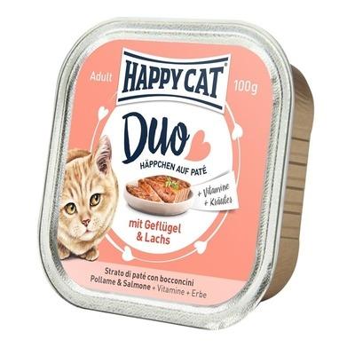 Happy Cat Duo Paté Nassfutter für Katzen Preview Image