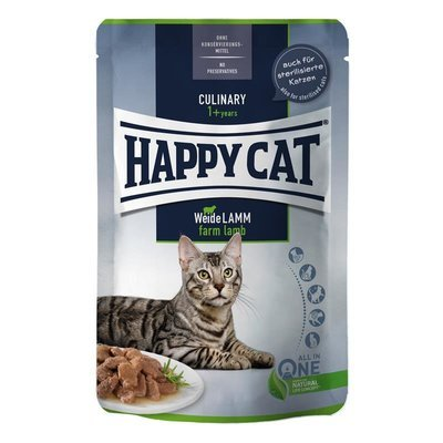 Happy Cat Nassfutter Pouches Culinary Preview Image