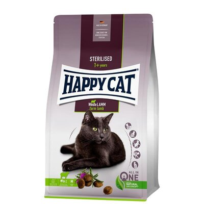 Happy Cat Sterilised Adult Weide Lamm Preview Image