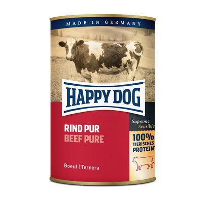 Happy Dog Nassfutter Dosen Rind Pur Preview Image