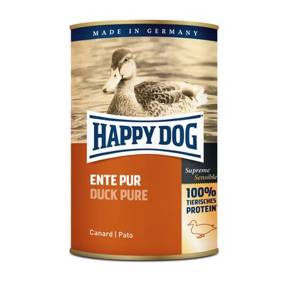 Happy Dog Nassfutter Ente Pur Preview Image